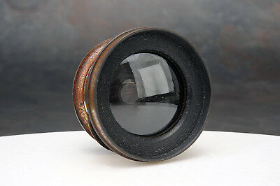 - Dallmeyer Wide Angle Rectilinear No.1 133mm f/15 Brass Lens