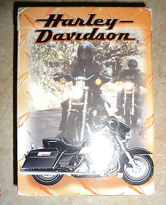 New Harley Davidson Playing Cards - 1999 Unopened Deck