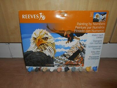 Painting By Numbers ~ Pl/97 ~ Eagles ~ Reeves ~ Brand New.