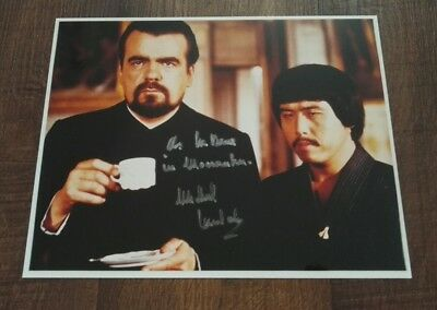 Michael Lonsdale signed Autogramm in Person 20x25cm COA James Bond 007