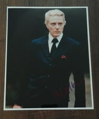Christopher Walken signed Autogramm in Person 20x25cm COA James Bond 007