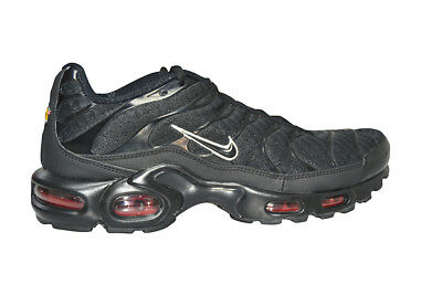 7af7329bbfb1f Hommes Nike Tuned 1 Air Max Plus TN -852630 015- Baskets Noires