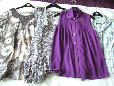 Womens UK Size 10 Bundle of Tops including NEXT