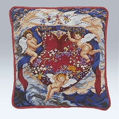 Ehrman 'Cherubs' Completed Tapestry Canvas, designed by Candace Bahouth