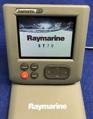 Raymarine ST70 Color SeaTalk OR SeaTalk NG Instrument Repeater Display E22105