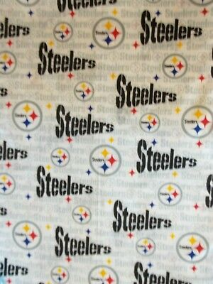 New Hand Made Steeler's Team Fitted Crib/Toddler Sheet
