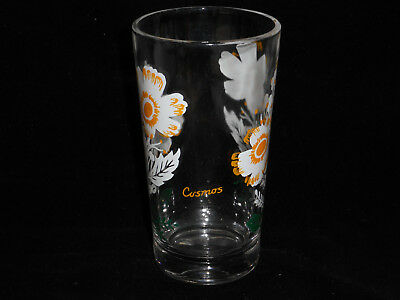 vintage boscul cosmos peanut butter glass