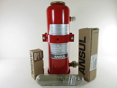 Ansul LT-A-101-20 Dry Chemical Fire Extinguisher System 17 lbs - 50 lbs total wt