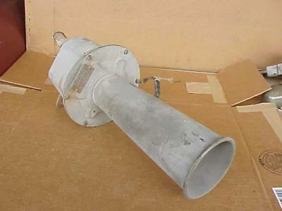 Vintage 12V US Navy All Brass Federal Signal Horn Works Nautical Marine