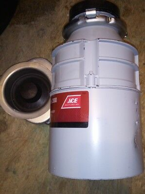 ACE 47981 Food Waste Disposer, Model 2000, 1/2 HP, FREE SHIP