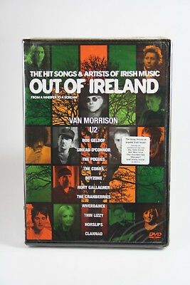Out of Ireland The Hit Songs & Artists of Irish Music DVD Factory Sealed NEW