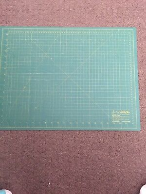 """Sew Easy Premium Quality Double Sided Cutting Mat 24"""" x 18"""" and 45 cm x 60 cm"""