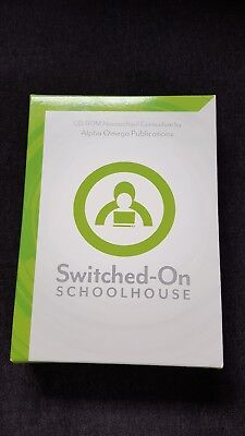 Switched On Schoolhouse (SOS) Language Arts, English 1, 9th grade Homeschool