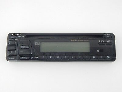sony cdx c410 car stereo am fm receiver md cd changer control sony cdx c410 car stereo am fm receiver md cd changer control faceplate only