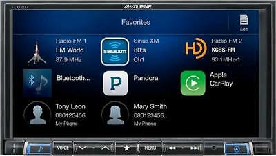Open-Box Excellent: Alpine - Android Auto/Apple CarPlaywith Sirius XMTune...