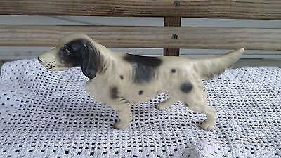 Vintage Porcelain Hunting Dog Figurine Made in Japan