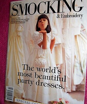 smocking and embroidery book issue 51 from Country Bumpkin