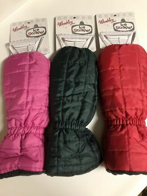 Ice Scraper Mitt $10 OFF Choice of 3 Colors Retail $24.00