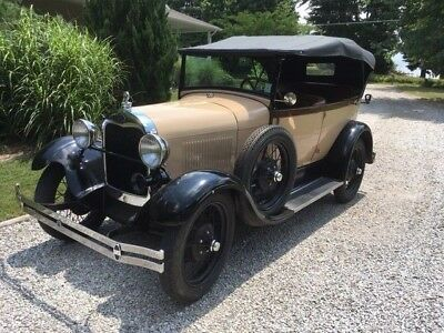 1928 Ford Model A  1928 Model A Ford Touring Car