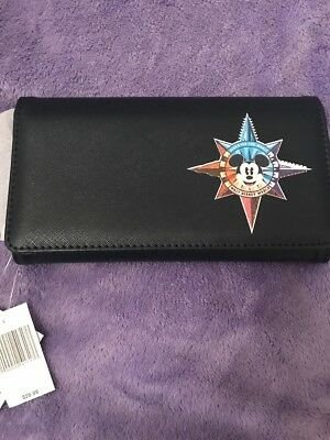 Disney Parks Mickey Mouse Compass Wallet Walt Disney World NWT