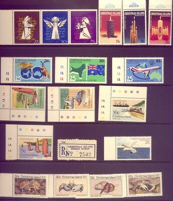 Christmas Island: A Great  Set Of Stamps Muh     Low    Reserve