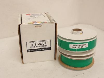 """156298 New In Box, Graphic Products 2-81-3007 BOX-2, Vinyl Tape, Green, Size: 1"""""""