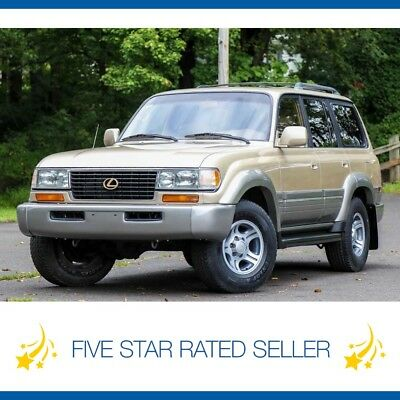 Lexus LX Serviced 4WD Low 132K Mi FJ80 1996 Lexus LX 450 Lx450 3rd ROW Serviced 4WD Low 132K Mi FJ80 Land Cruiser