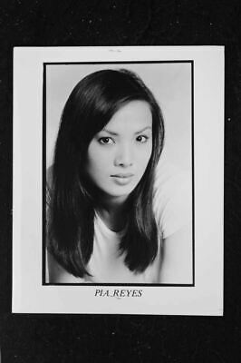 pia reyes - 8x10 headshot photo w/ resume - playboy '88