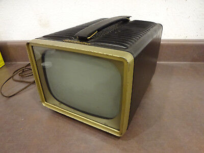 1950's RCA Victor Portable TV - Model PT 7012 - with spare good CRT