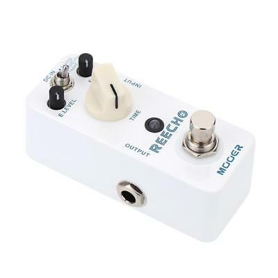 Mooer Reecho s Mini Digital Delay Effect Pedal for Electric Guitar True Bypass