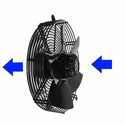 250mm Axial Fan- YWF4E, 60Hz, Heavy Duty & Commercial Use, 1Ph, 4Pole, 240 Volt
