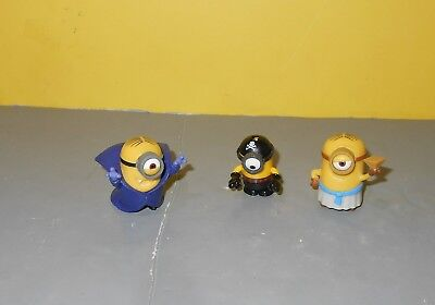 "Despicable Me Minions Vampire Dracula - Pirate & Egyptian Mini 1"" Figures"