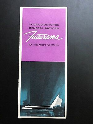 Vintage Guide To The General Motors Futurama - New York World's Fair 1964-65