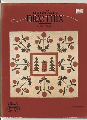 ANOTHER NICE MIX, Thick Soft Cover  Patchwork and Quilting Book,