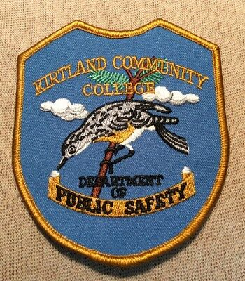 MI Kirtland Community College Michigan Public Safety Patch