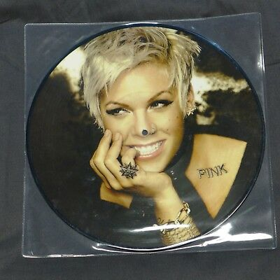 """Pink - Raise Your Glass. 12"""" limited Picture Disc"""