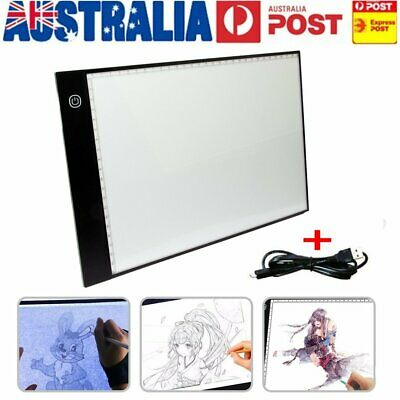 A4 LED Drawing Board Light Box Art Tattoo Copy Drawing Pad Table Stencil Display