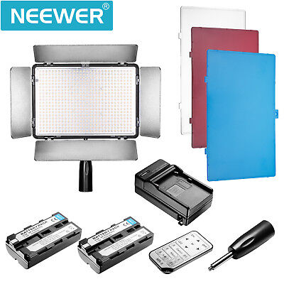 Bestlight TL-600A Built-in LCD Panel LED Video Light with Infrared Remote