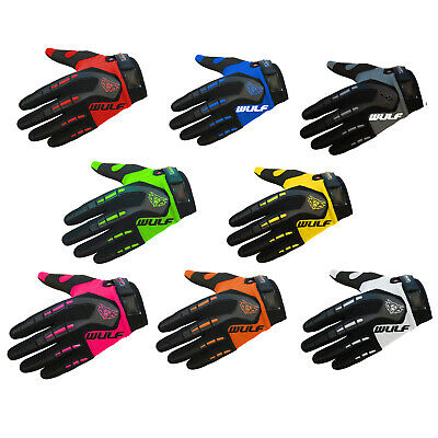 Wulfsport Attack Junior Gloves Motocross Offroad Trials Dirt Pit Mountain Bike