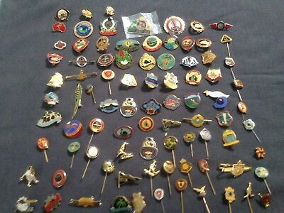 Large collection of Australian Bowls Club Friendship Pins