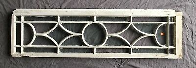 Vtg Casement Window Sash Transom SIidelight Shabby Old Chic 406-18E