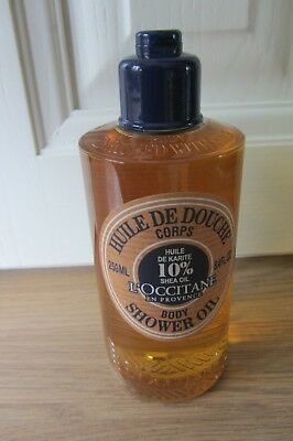 L'Occitane Shea Oil  Body Shower Oil 250ml  ~ New