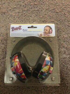 Baby Banz Earmuffs, Infant Hearing Protection Multi-color