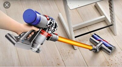 Dyson V8 Absolute handheld cordless battery powered stick vacuum cleaner.