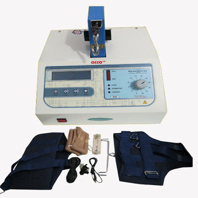 Cervical & Lumber traction machine LCD electootherapy Digital Traction  unit
