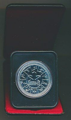 Canada: 1978 $1 Silver Commonwealth Games Proof-like in Mint Case