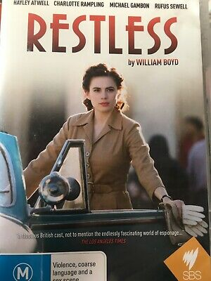 RESTLESS - Complete Mini Series DVD AS NEW! Hayley Atwell Charlotte Rampling