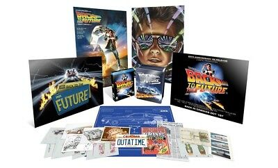 Back to the Future 25th Anniversary Limited Edition Box Blu Ray