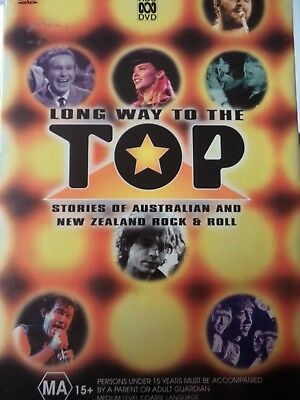 IT'S A LONG WAY TO THE TOP - Complete ABC TV Series 2 x DVD Set Excellent Cond!