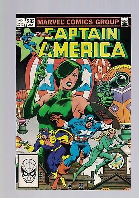 Marvel Comic Captain America no 283 July 1983 60c USA